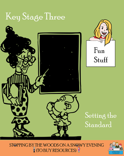 Key Stage 3 = Setting the Standard