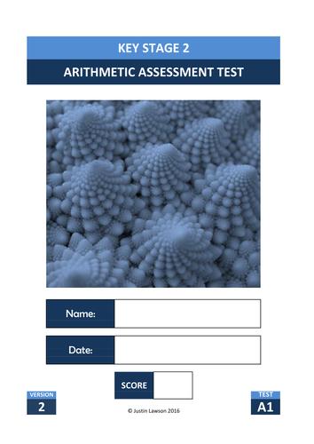 KS2 Arithmetic Tests (Set 1 Autumn 2016) - New Format - Assess progress towards SATs (8 Tests)