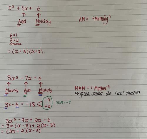 solving quadratic equations by factorising by mrjwright teaching
