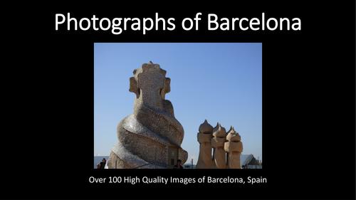 Art. Spanish. Photographs of Barcelona.