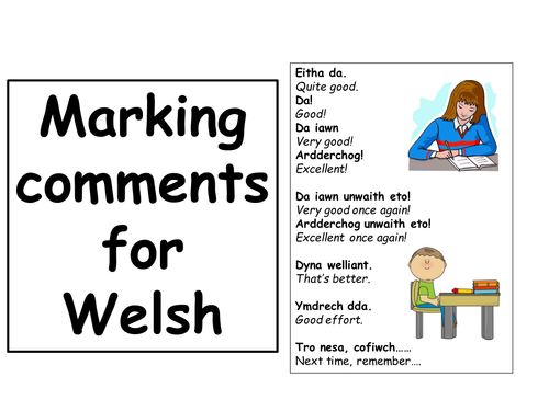 Marking comments