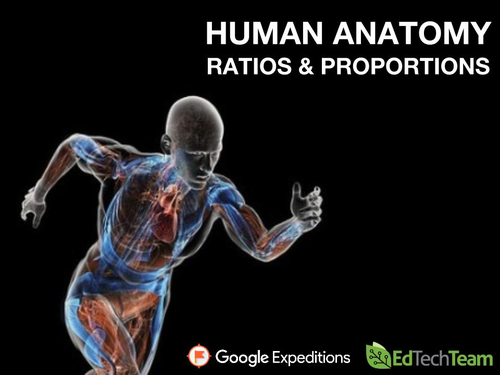 HUMAN ANATOMY: RATIOS & PROPORTIONS #GoogleExpedition #ccss #math