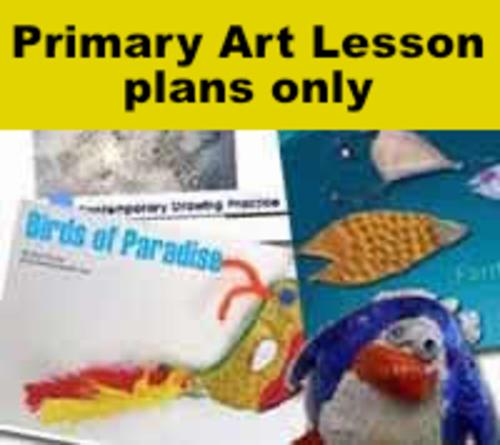 Primary Art KS1 & 2 Lesson Pack