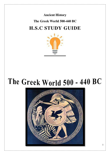Ancient History Notes - Greece