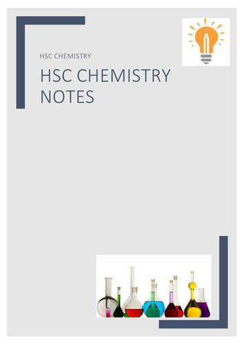 HSC Chemistry Complete Notes