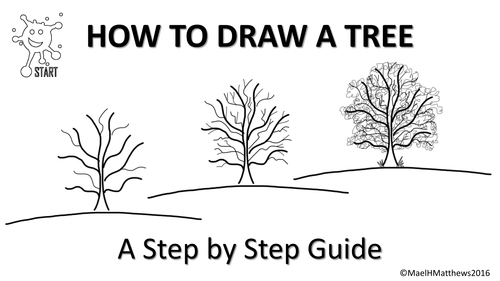 Art and Design. Drawing trees