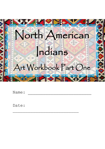 North American Indians Art Home Learning Part One