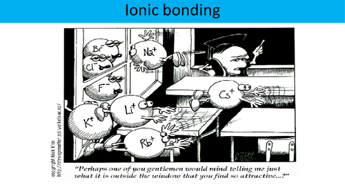 Ionic bonding and structure - OCR AS Level Chemistry (Electrons and bonding)