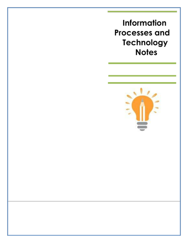 IPT HSC Notes