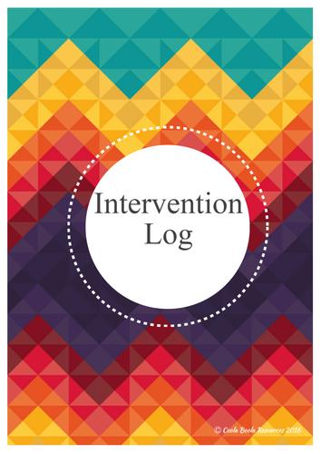 Teacher Interventions Log