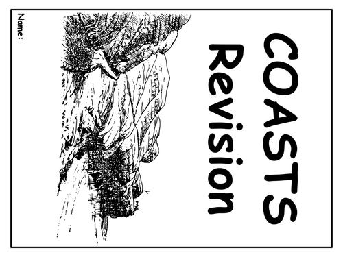 "GCSE revision workbook ""COASTS"""
