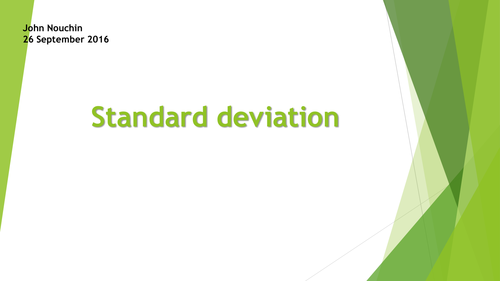 Spot the Errors standard deviation misconceptions by – Variance and Standard Deviation Worksheet