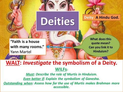 Hindu Deities Ganesha By Hinzc Teaching Resources Tes
