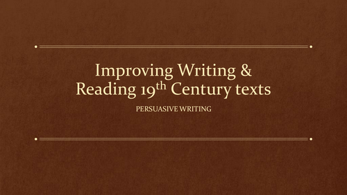 English Persuasive Text?