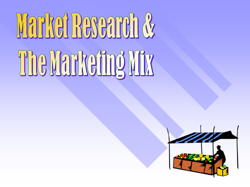 GCSE Business - Market Research and The Product Life Cycle
