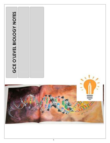 GCSE O Level Biology Notes