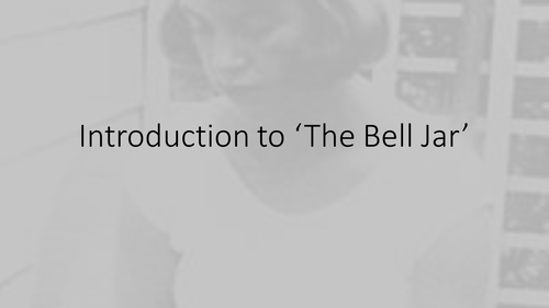 The Bell Jar Full SOW and activities