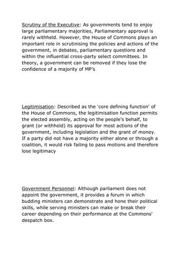 UK Parliament - Citizenship