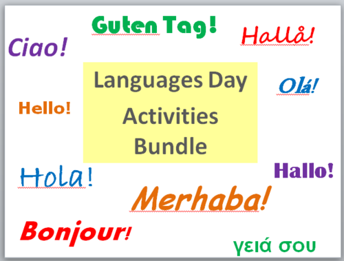 Languages Day Activities