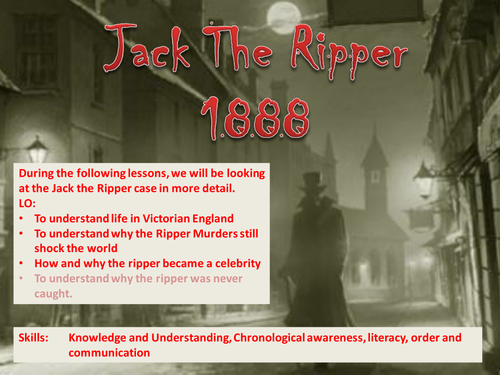 Jack the ripper esl resources.