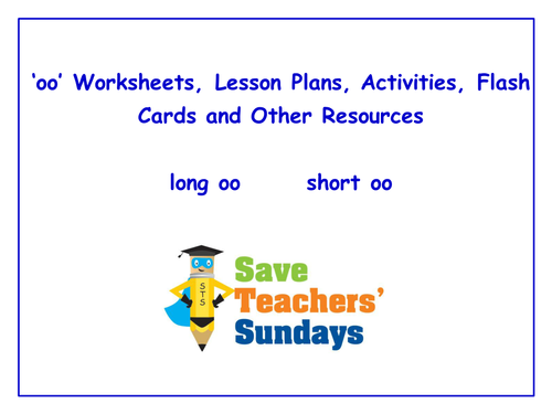 Oo Worksheets Lesson Plans Activities Flash Cards and Other – Oo Worksheets