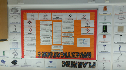 Science Classroom Displays