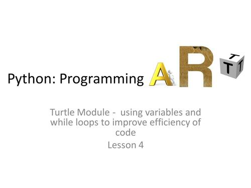 Art in Python 4/4