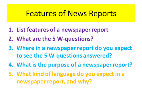 Non fiction texts KS3 preparation for GCSE analysis