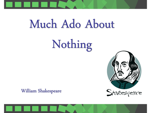 essays of much ado about nothing