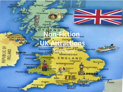 UK Attractions- Non Fiction