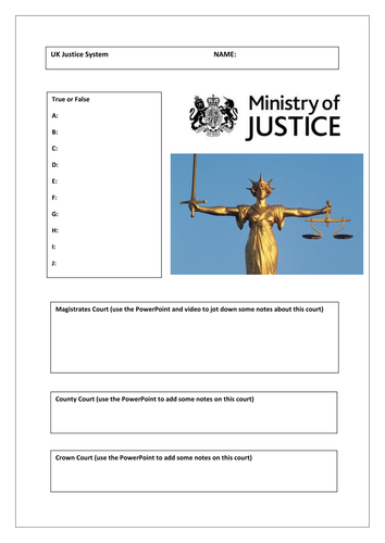 The British Court System - Citizenship