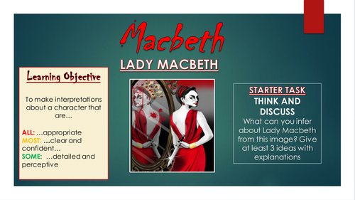 an analysis of the themes in macbeth a play by william shakespeare William shakespeare's macbeth analysis, techniques for using the play as a bridge to other works since macbeth is a play dealing with adult themes and.