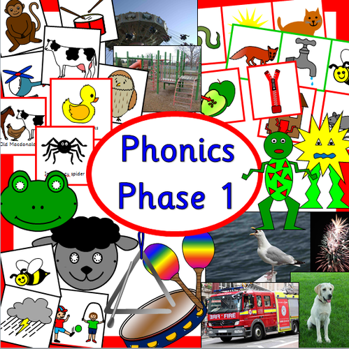 Phonics phase 1 resources- Letters and Sounds activity pack | Teaching  Resources