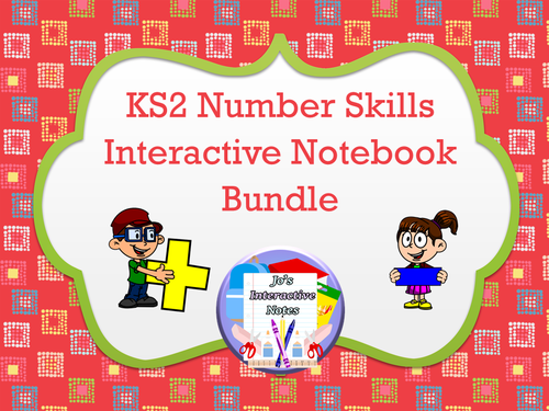 KS2 Number Skills Interactive Notebook Bundle