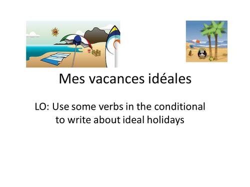 Mes vacances ideales