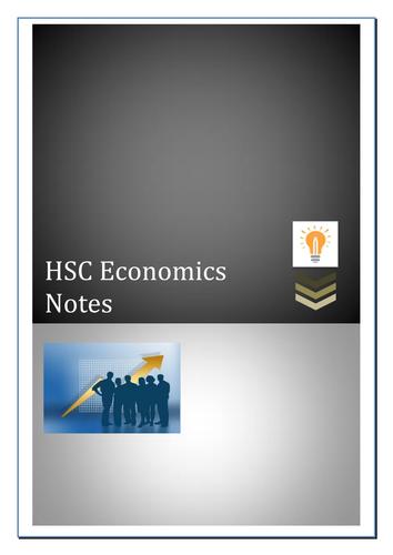 HSC Economics Notes