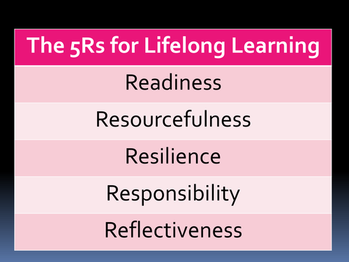 How to be an effective learner - The 5 Rs