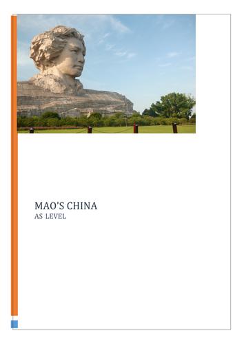 Mao's China AS Level Notes