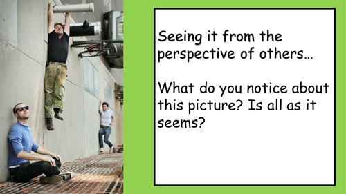 KS4 Perspective Writing