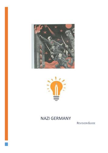 Nazi Germany Revision Notes