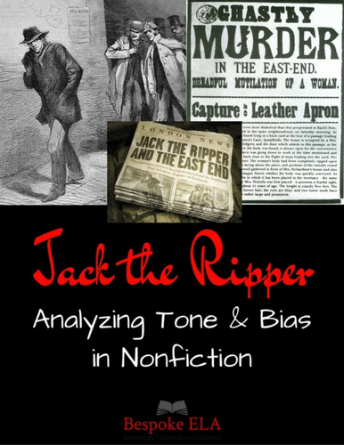 Nonfiction: Analyzing Tone and Bias in the Media Stories of Jack the Ripper