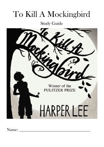To Kill A Mockingbird Independent Study Guide