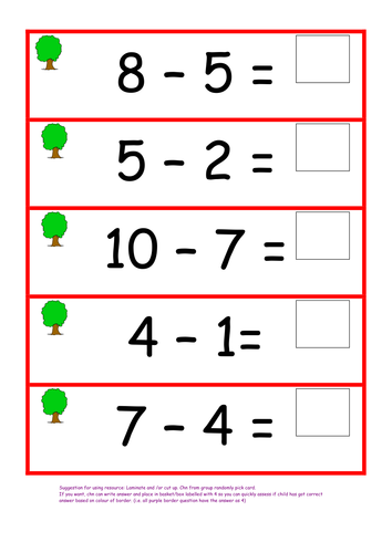 subtraction resources lesson plan powerpoint activity for reception year 1 and perhaps year 2. Black Bedroom Furniture Sets. Home Design Ideas