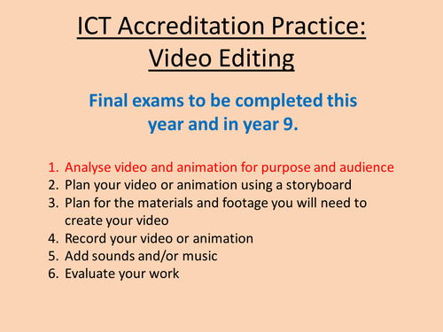 CIE Video and Animation