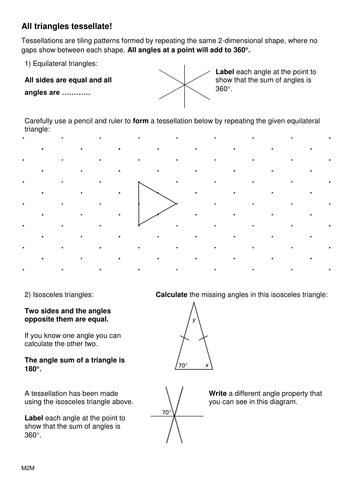 Tessellating shapes