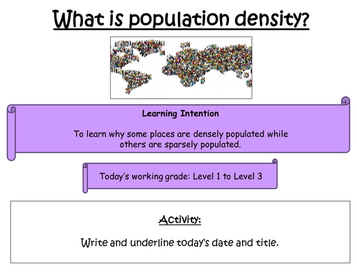 2 - What is population density?
