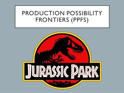 A Level Economics - PPF Production Possibility Frontier (PPFs - PPC)