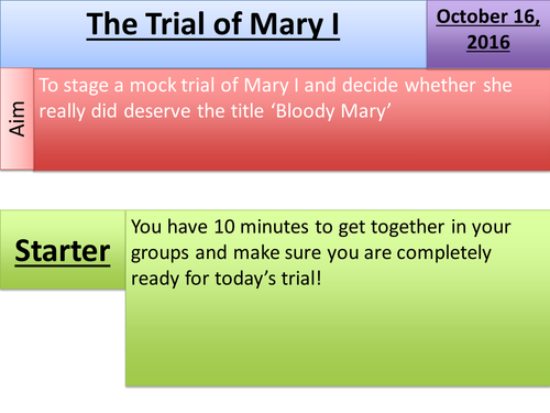 Trial of Mary I: Does she deserve the title 'Bloody'?