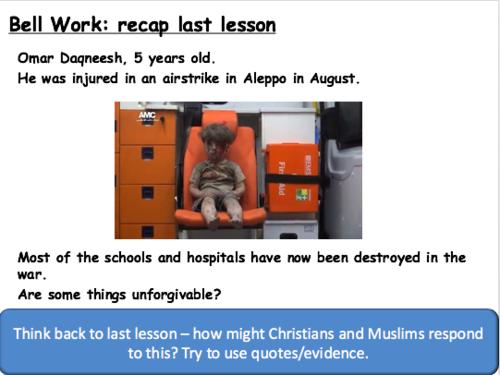 Edexcel GCSE Religious Studies - Peace and Conflict WHOLE UNIT OF LESSONS