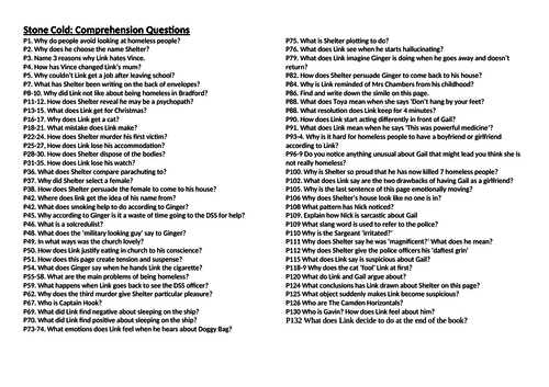 year creative writing lesson observation ppt by pleasemiss stone cold comprehension questions